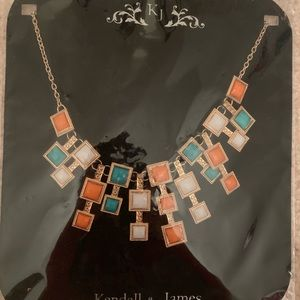 Kendall & James Signature Geometric Gold Necklace